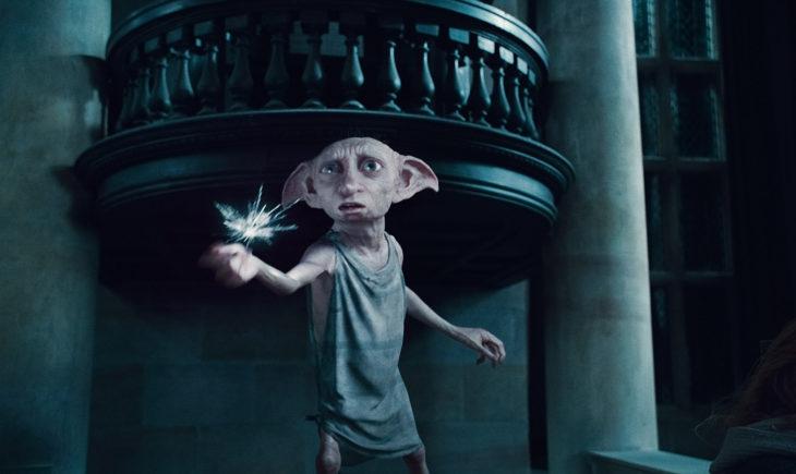 duende animado de la película Harry Potter