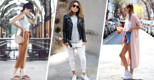 22 Looks cómodos para los días en que no quieres lucir tan elegante