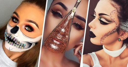 20 Ideas para maquillarte en Halloween de forma terrorífica pero super sexy