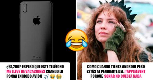 El nuevo iPhone es genial pero lo mejor son las reacciones de Internet