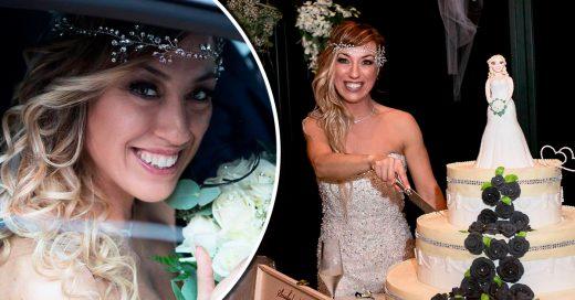 Mujer apuesta por la sologamia y se casa con ella misma