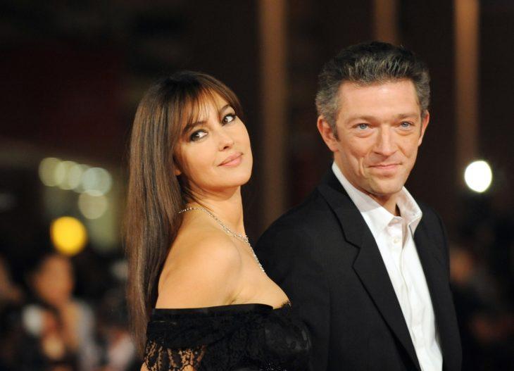 monica bellucci y su esposo