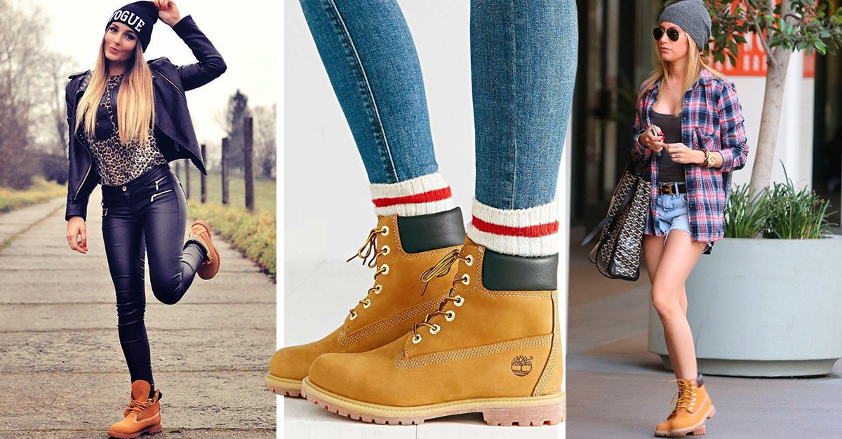 15 Increu00edbles outfits para combinar tus botas timberland