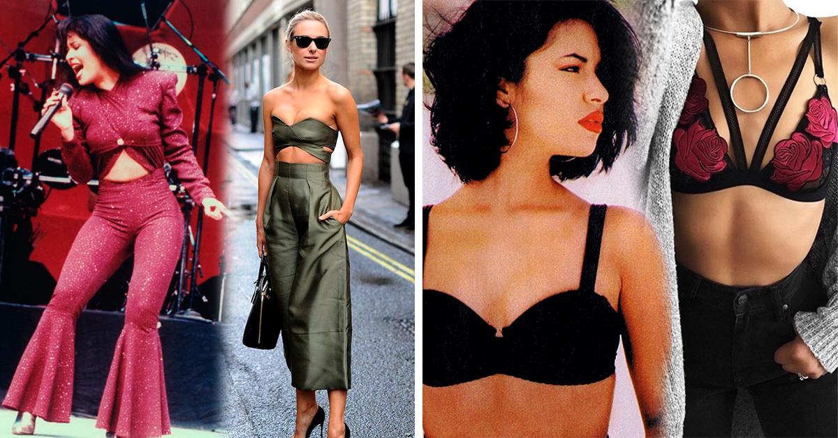 Los outfits que Selena Quintanilla usaría actualmente