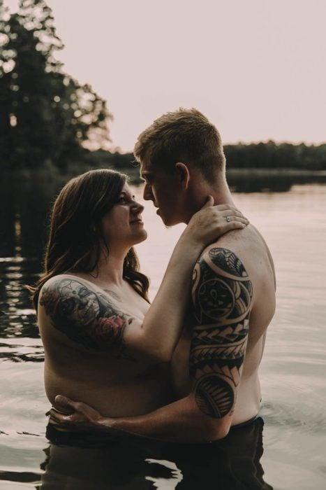 pareja compromiso