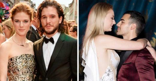15 Personajes de Game of Thrones con sus parejas de la vida real