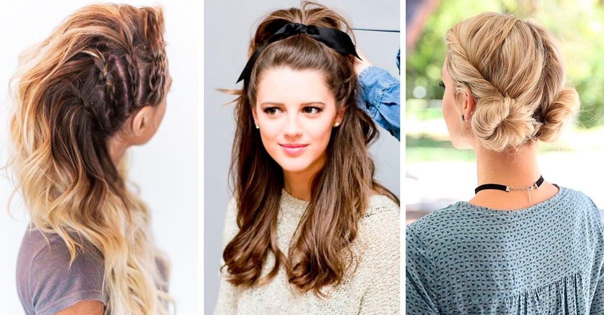 15 Peinados que te harán el centro de atención y seguramente tu crush se fijará en ti