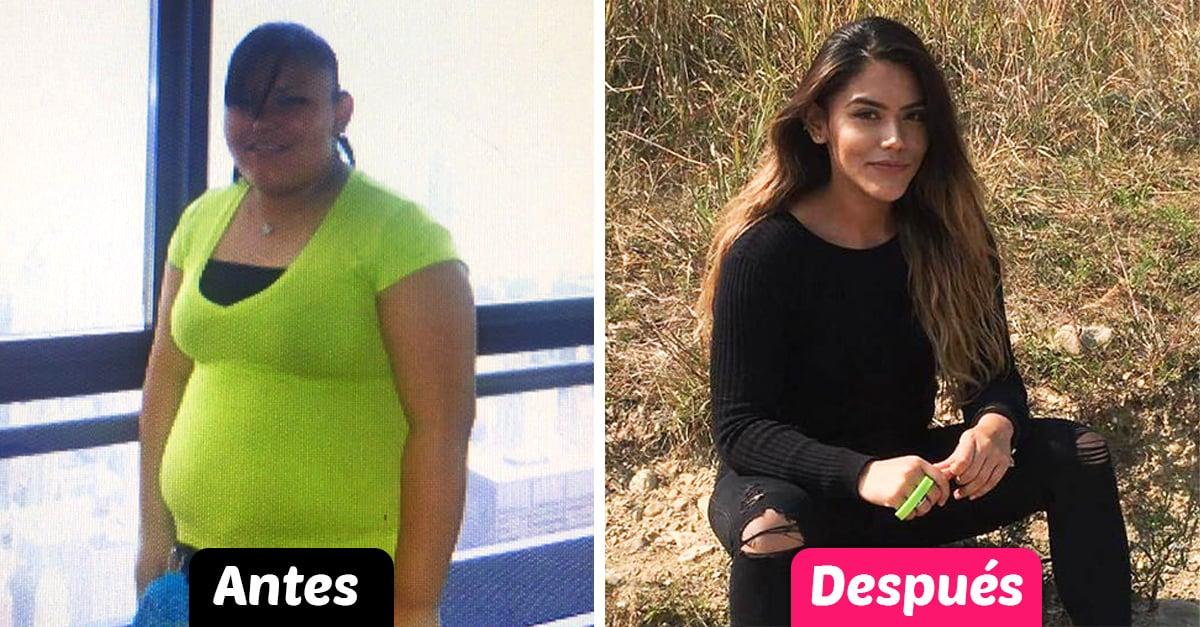 Se cansó de ver su figura en el espejo y perdió 36 kilos en dos años; luce totalmente diferente