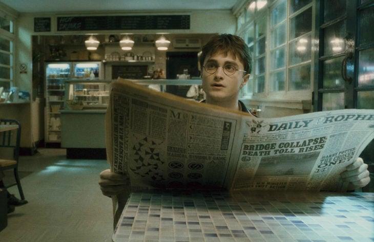 periódicos pde harry potter