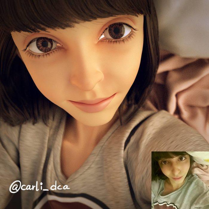 retratos 3D 11