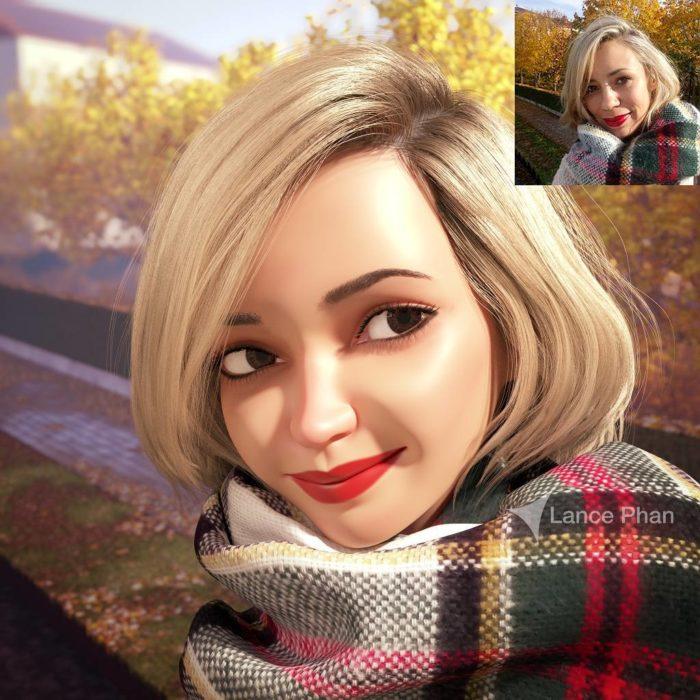retratos 3D 16
