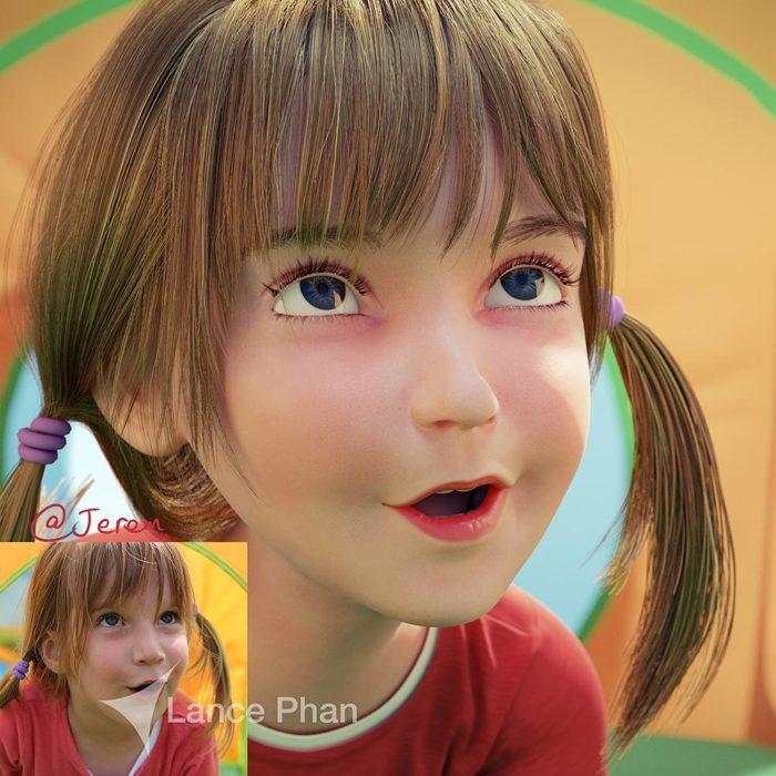retratos 3D 18