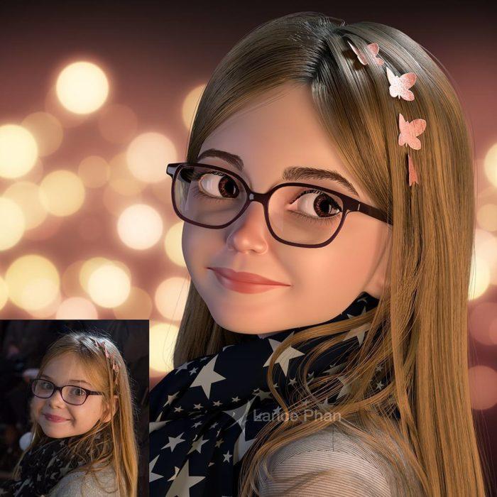 retratos 3D 6