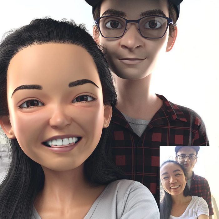 retratos 3D 7