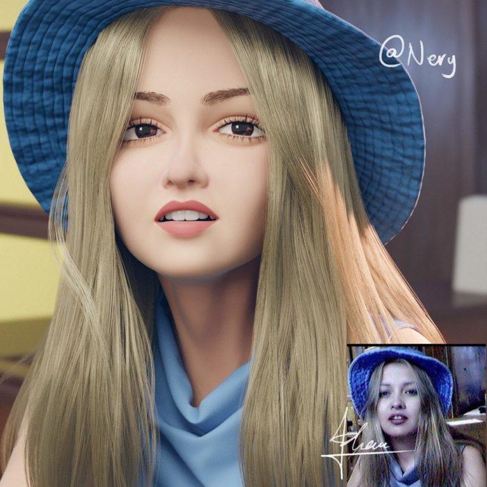 retratos 3D 1