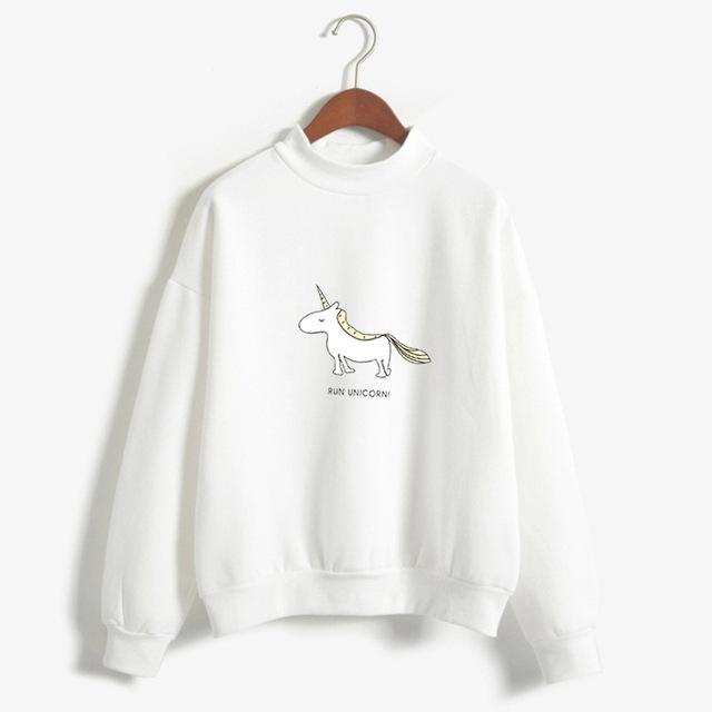 sudadera de unicornio
