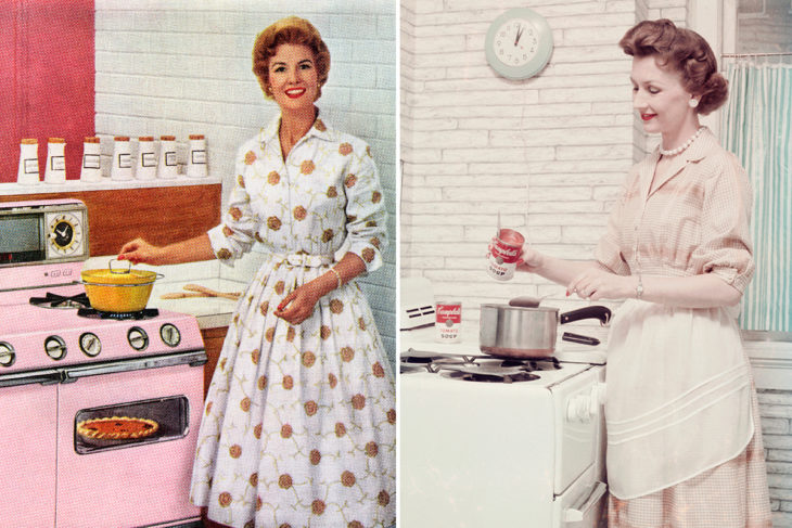tea-dress-años-50