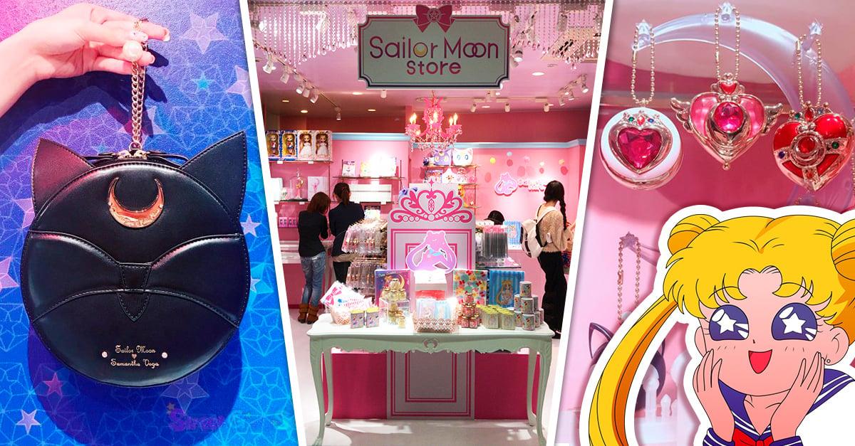 Se inaugura en Japón la primera tienda oficial de Sailor Moon