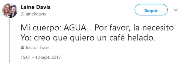 Captura de pantalla de tuit