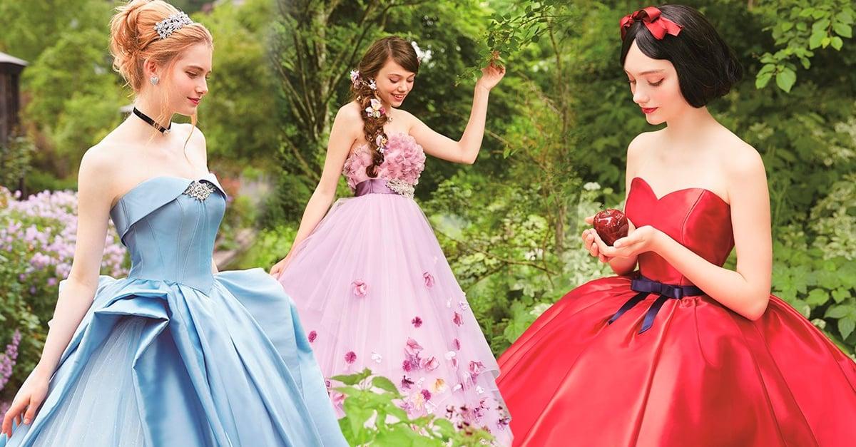 Esta compañía está creando hermosos vestidos de princesas