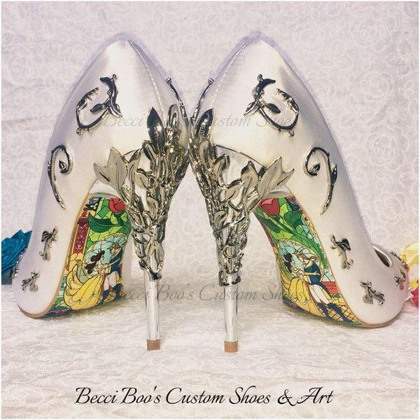 zapatillas bella y bestia