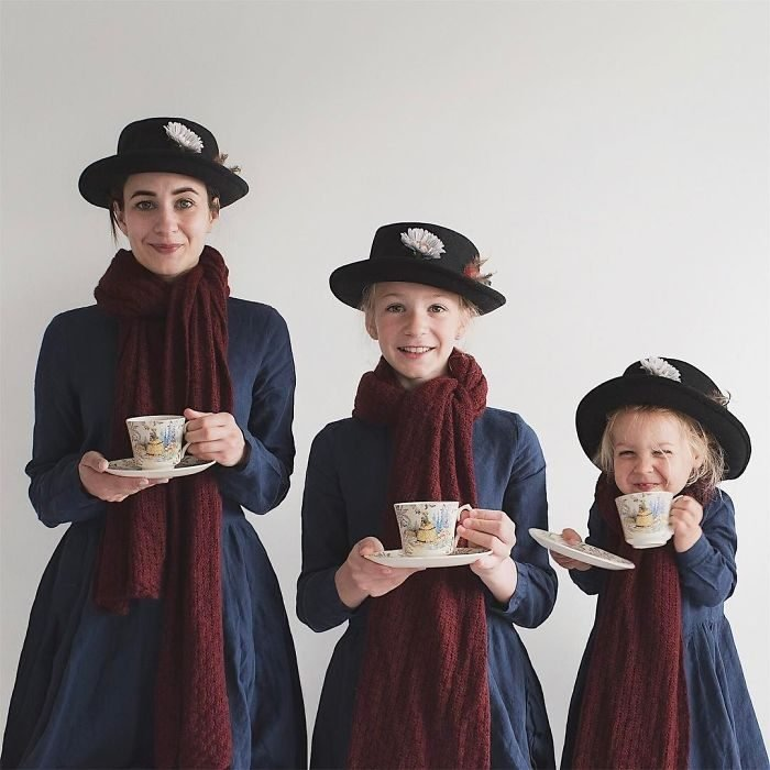 All that is three Mary Poppins