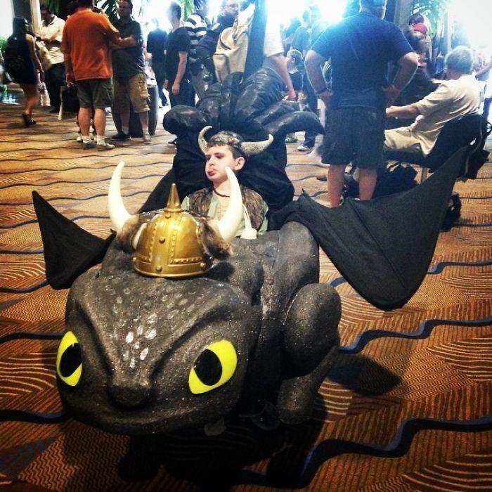 disfraz de Como entrenar a tu dragon