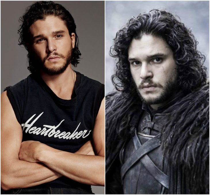 Kit Harington como Jon Snow (Game of Thrones)