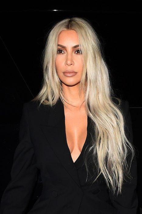 Kim Kardashian West melena xxl