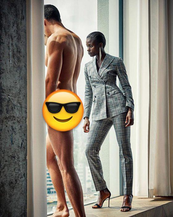 campaña de hombres desnudos censurado