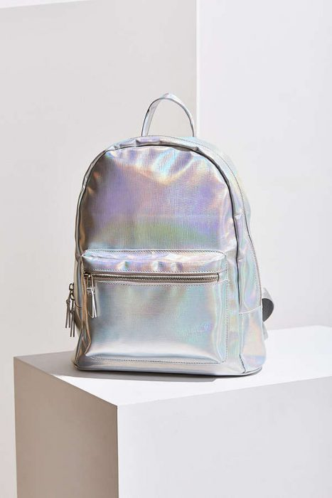 mochila iridiscente