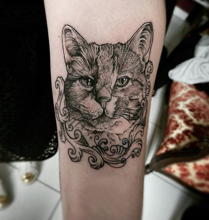 Tattoos de gato