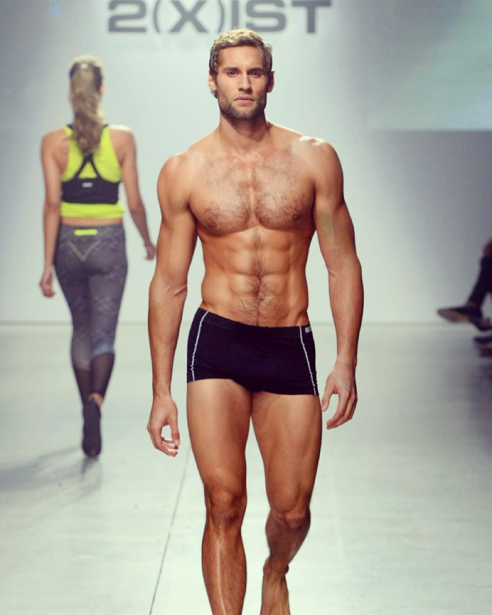 Male underwear fashion show video 82