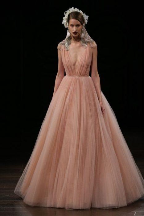vestido de novia de naeem khan