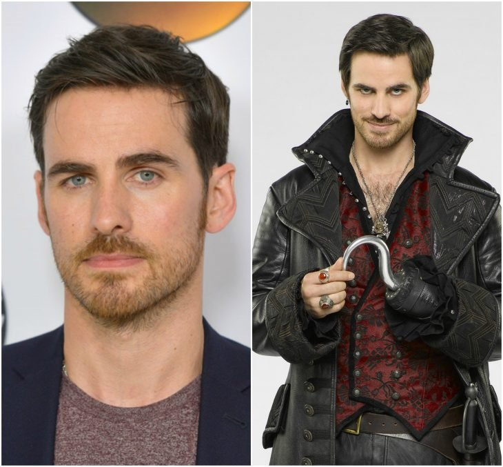 Colin O'Donoghue como Killian Garfio Jones (Once Upon a Time)