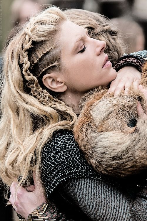 20 Peinados Con Trenzas Inspirados En Lagertha De Vikings