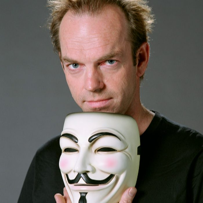 Hugo Weaving en V for Vendetta