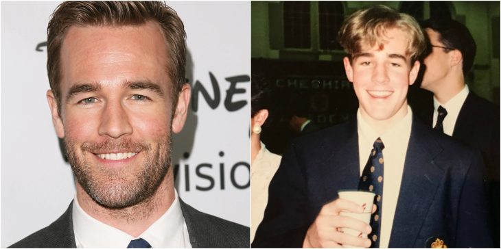 JAMES VAN DER BEEK adulto y puberto