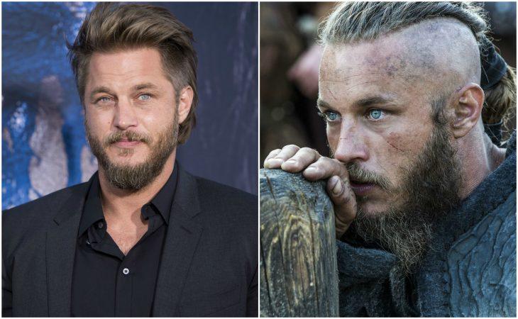 Travis Fimmel como Ragnar Lodbrok (Vikings)