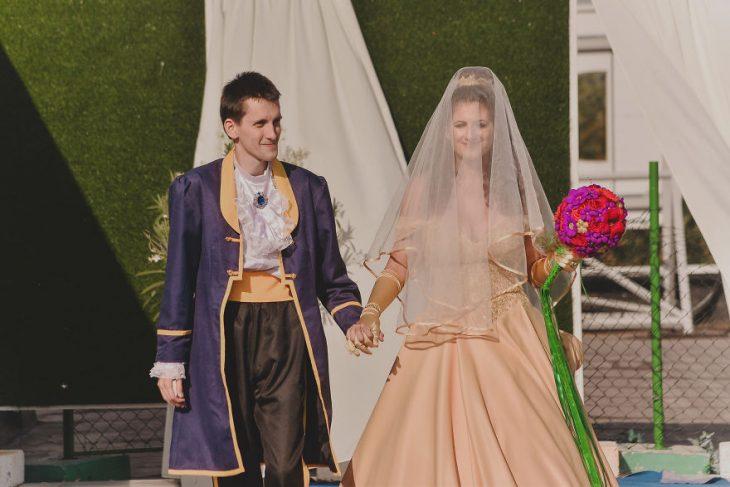 bella y bestia boda