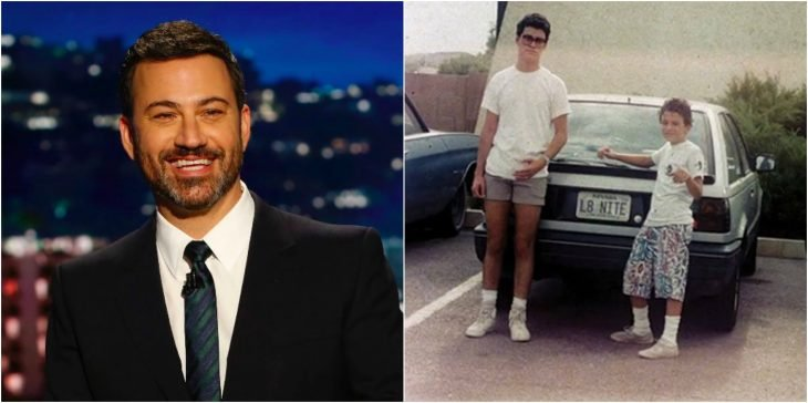 jimmy kimmel adulto y puberto