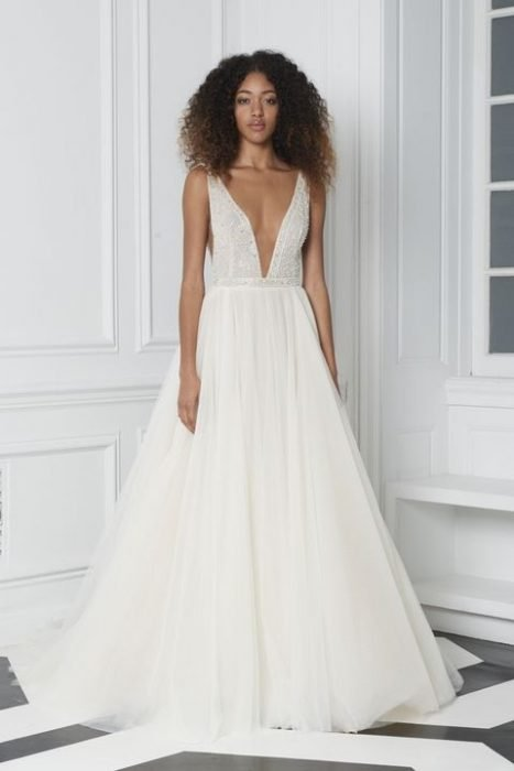 vestido de novia bliss de monique lhuillier