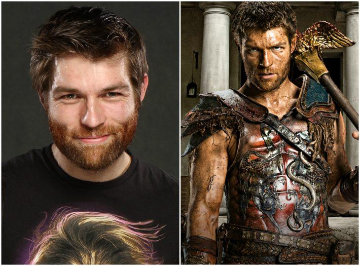 Liam McIntyre como Espartaco (Spartacus)