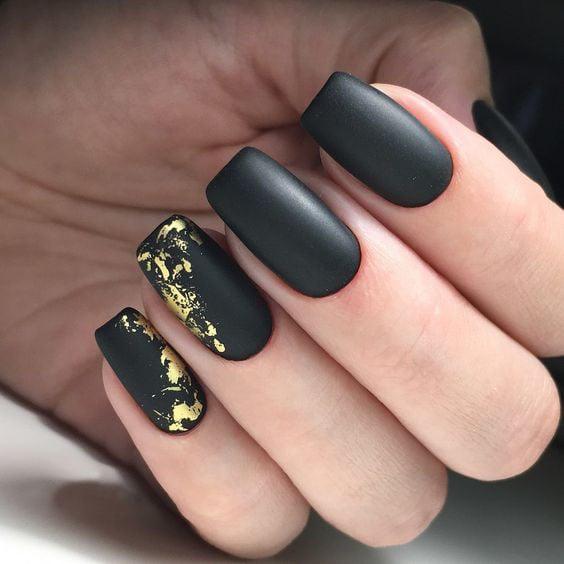 25 Diseños De Uñas Negras Para Las Chicas Con Más Estilo