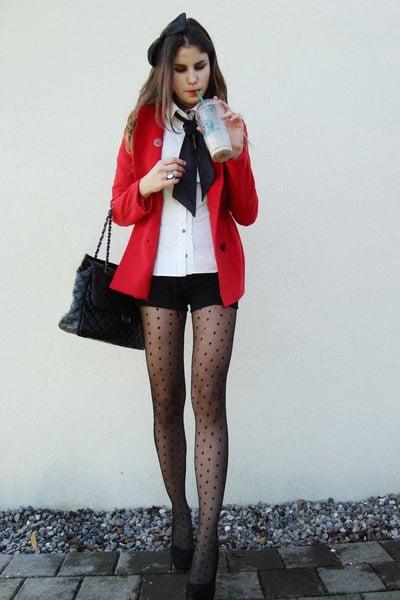 outfit con medias