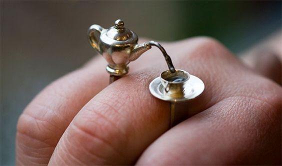 anillo de tetera
