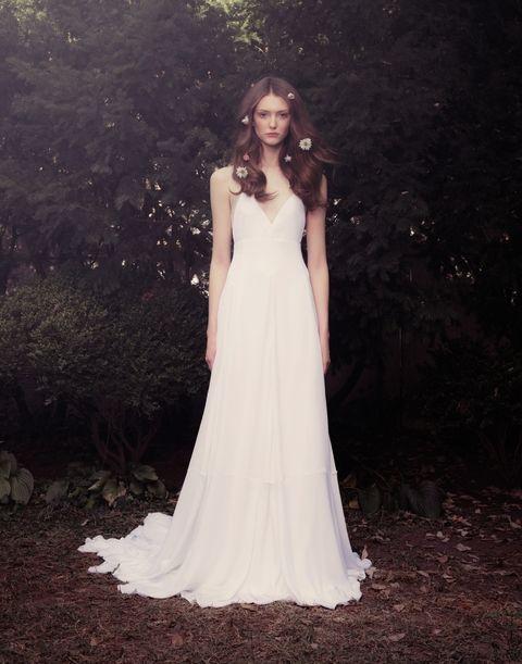 vestido de novia de honor