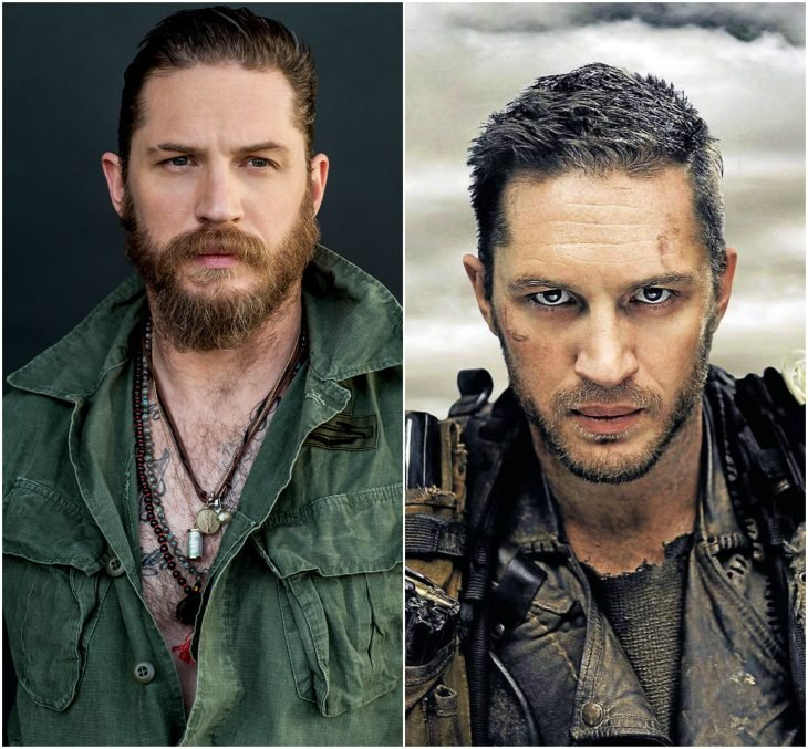 Tom Hardy como Max Rockatansky (Mad Max Fury Road)