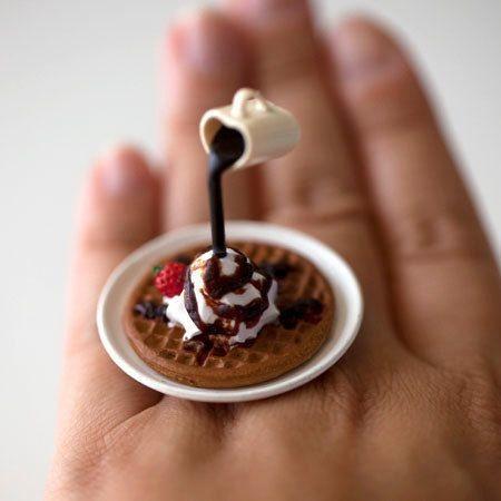 anillo de wafle