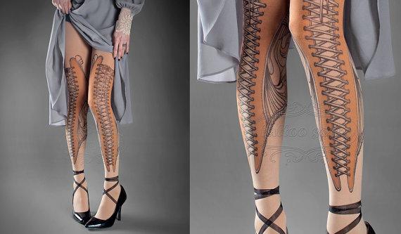 medias de corse para las piernas